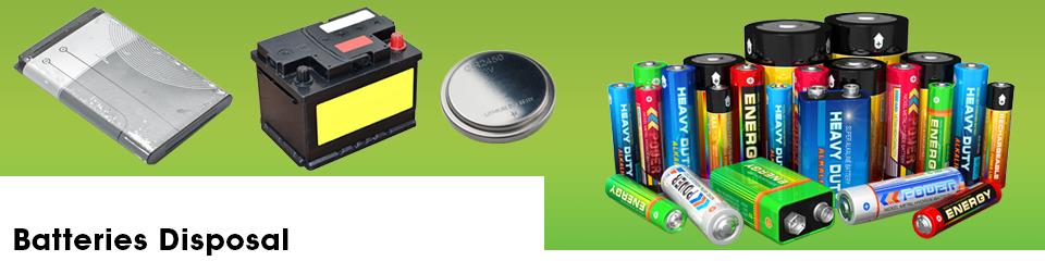 Batteries Disposal - Ecolamp Recycling Solutions Ltd UK