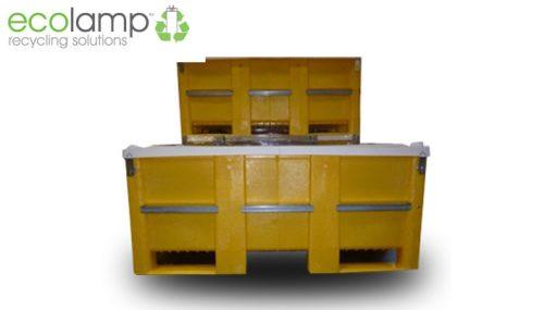 SL box pallet Lamp storage solutions fluorescents