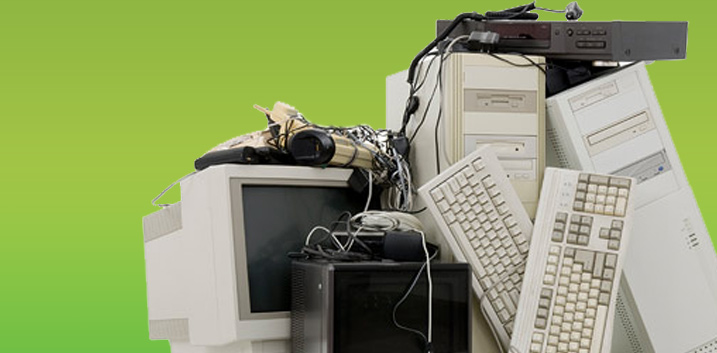 we collect old computers ECOLAMP weee waste recycling warrington-UK-collection service hardrives